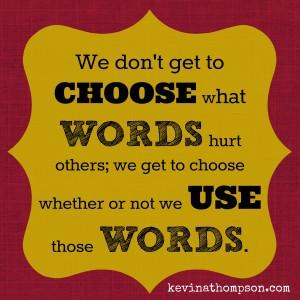 choose words