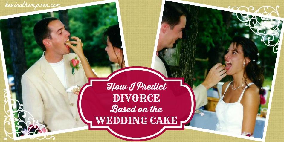 How I Predict Divorce Based on the Wedding Cake