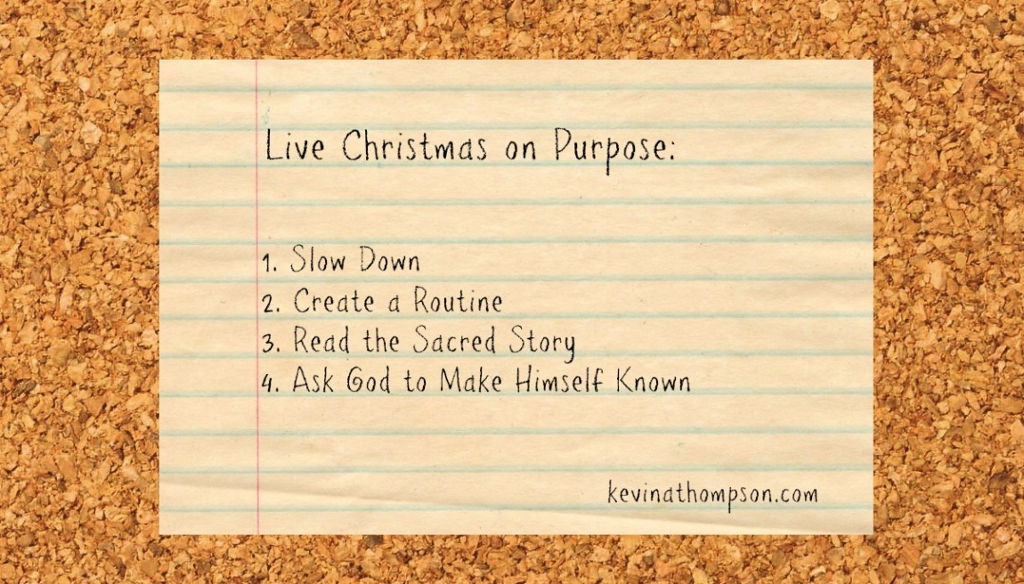 Live Christmas on Purpose