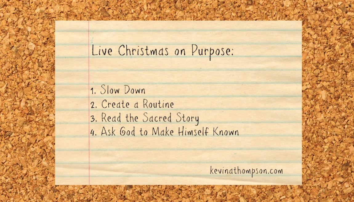 Live Christmas on Purpose - Kevin A. Thompson