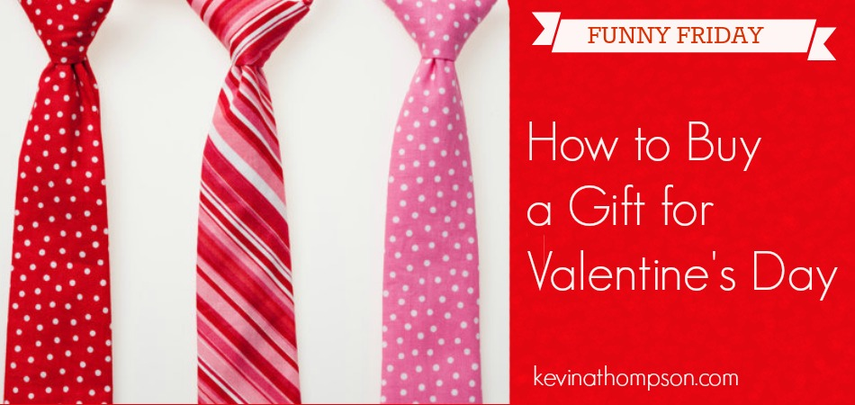 How to Buy a Gift for Valentine's Day (Funny Friday)