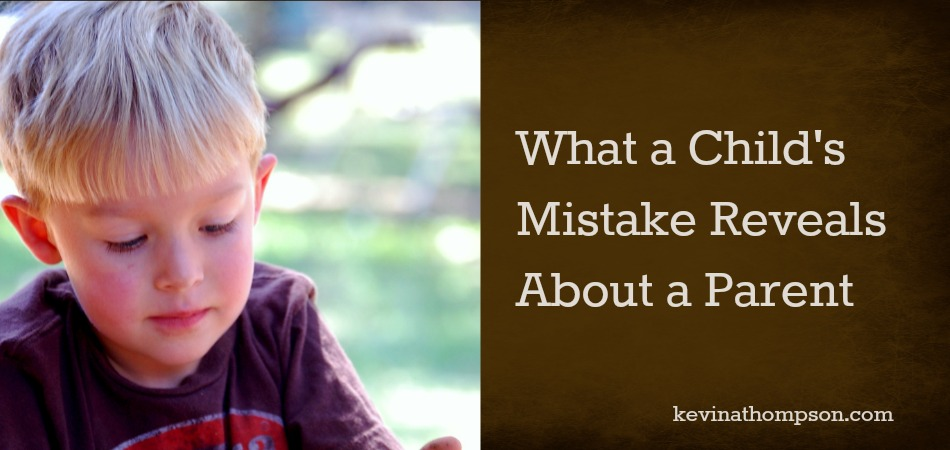 What a Child's Mistake Reveals About a Parent