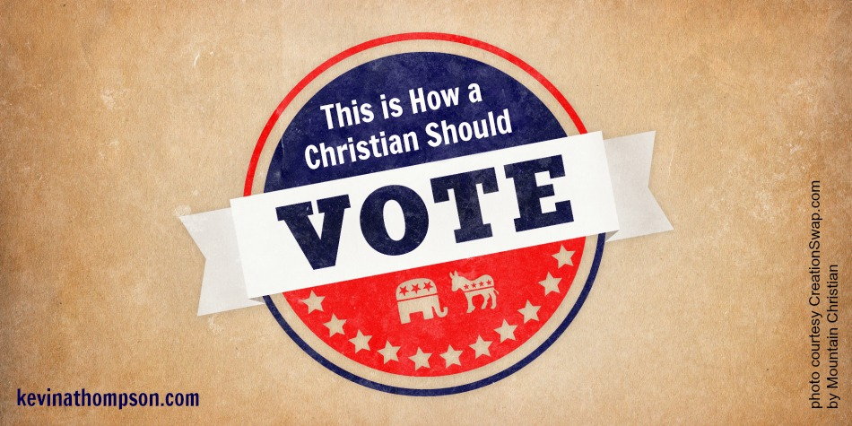 This Is How a Christian Should Vote