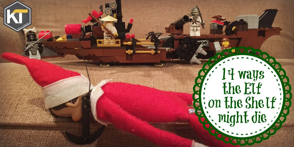 14 Ways the Elf on the Shelf Might Die