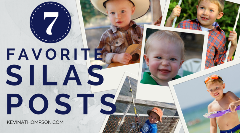 7 Favorite Silas Posts In Honor of His 7th Birthday