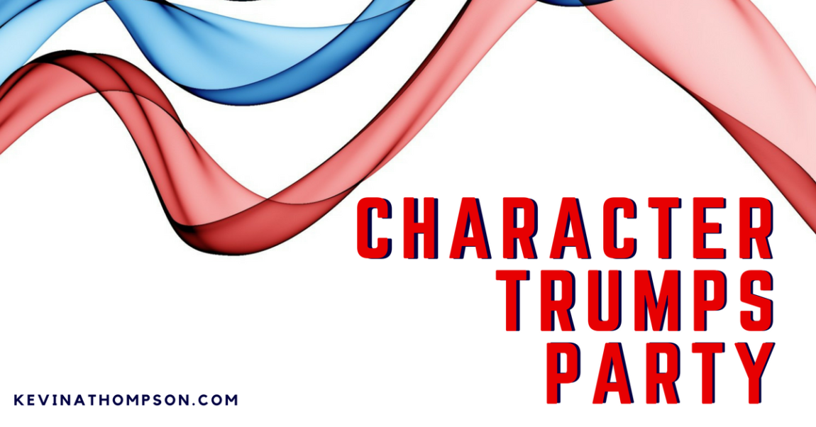 Character Trumps Party