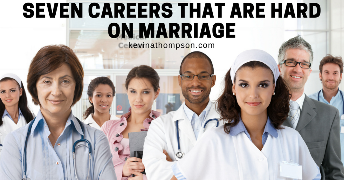 Seven Careers That Are Hard on Marriage