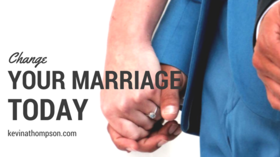 Change Your Marriage Today