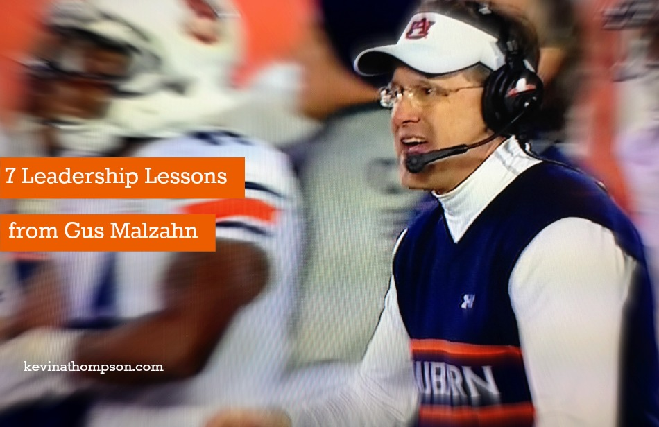 7 Leadership Lessons from Gus Malzahn