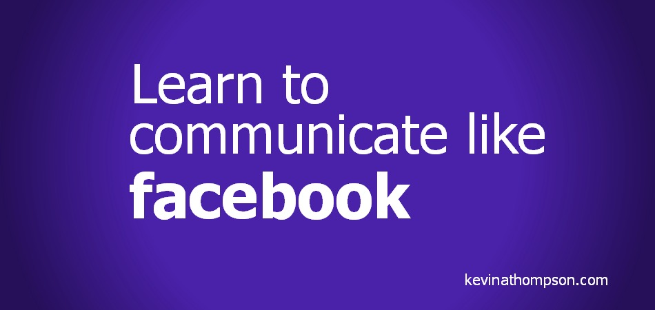 Learn to Communicate Like Facebook
