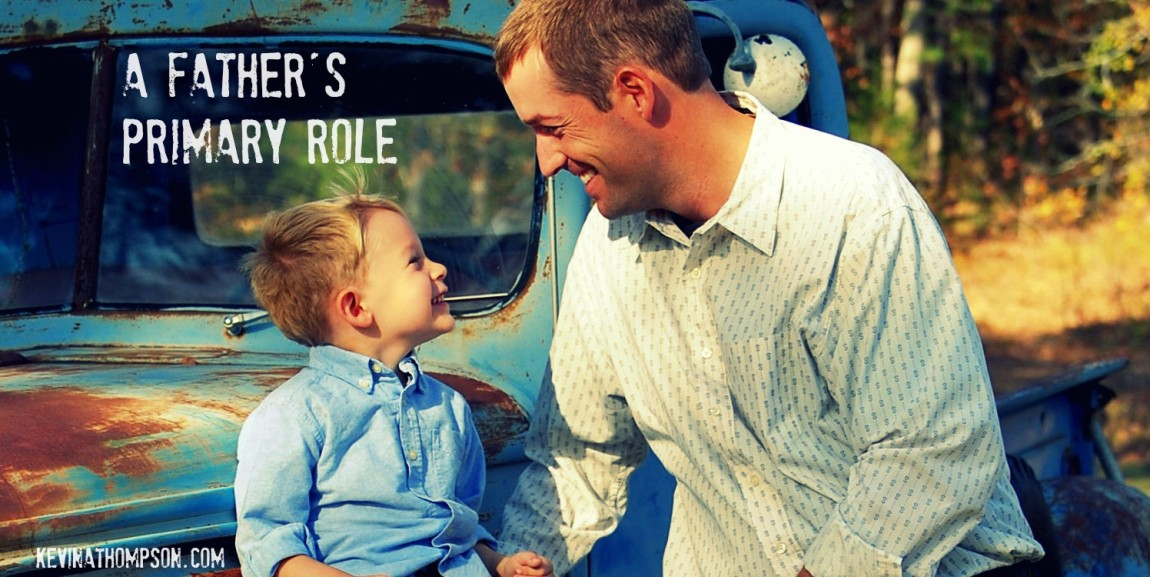 A Father's Primary Role