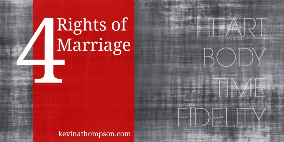 Four Rights of Marriage