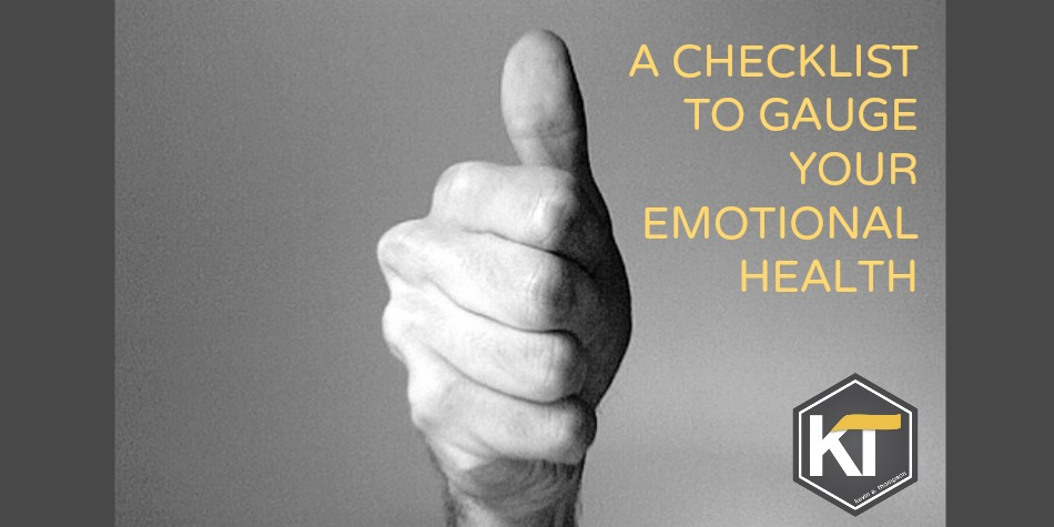A Checklist to Gauge Your Emotional Health