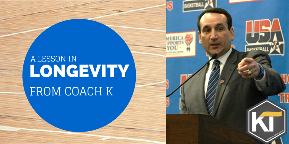 A Lesson in Longevity from Coach K