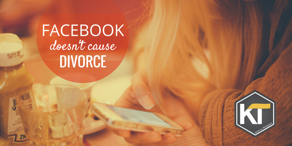 Facebook Doesn't Cause Divorce