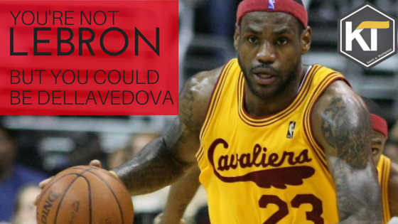 You're Not Lebron, But You Could Be Matthew Dellavedova