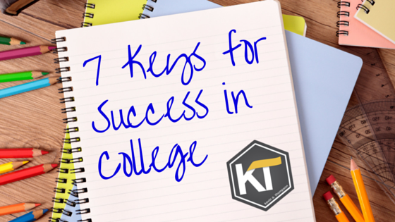 7 Keys for Success in College