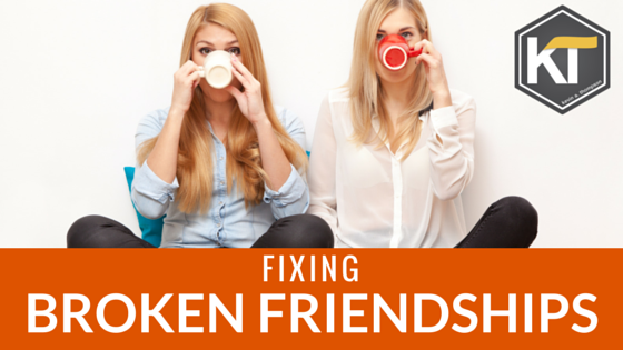 Fixing Broken Friendships