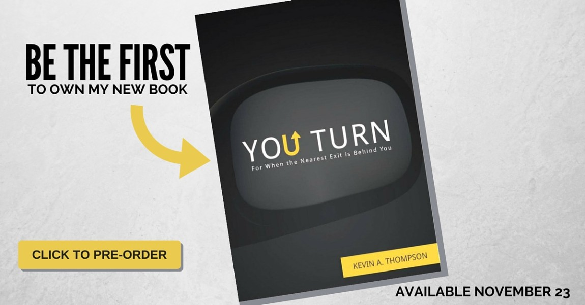 Be the First to Own My New Book, You Turn