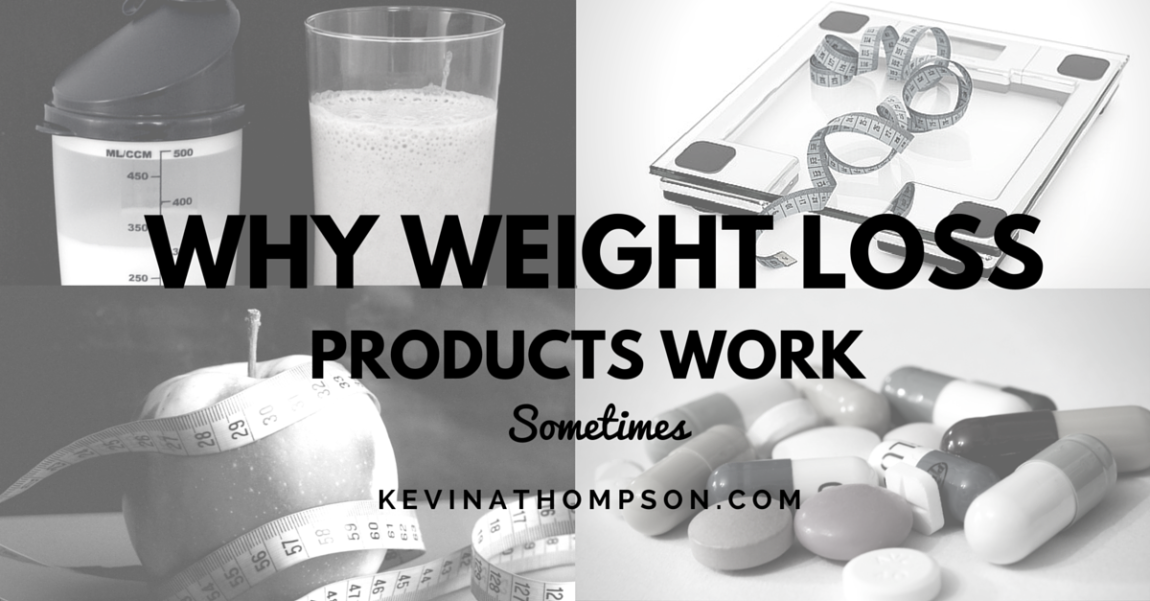 Why Weight Loss Products Work Sometimes