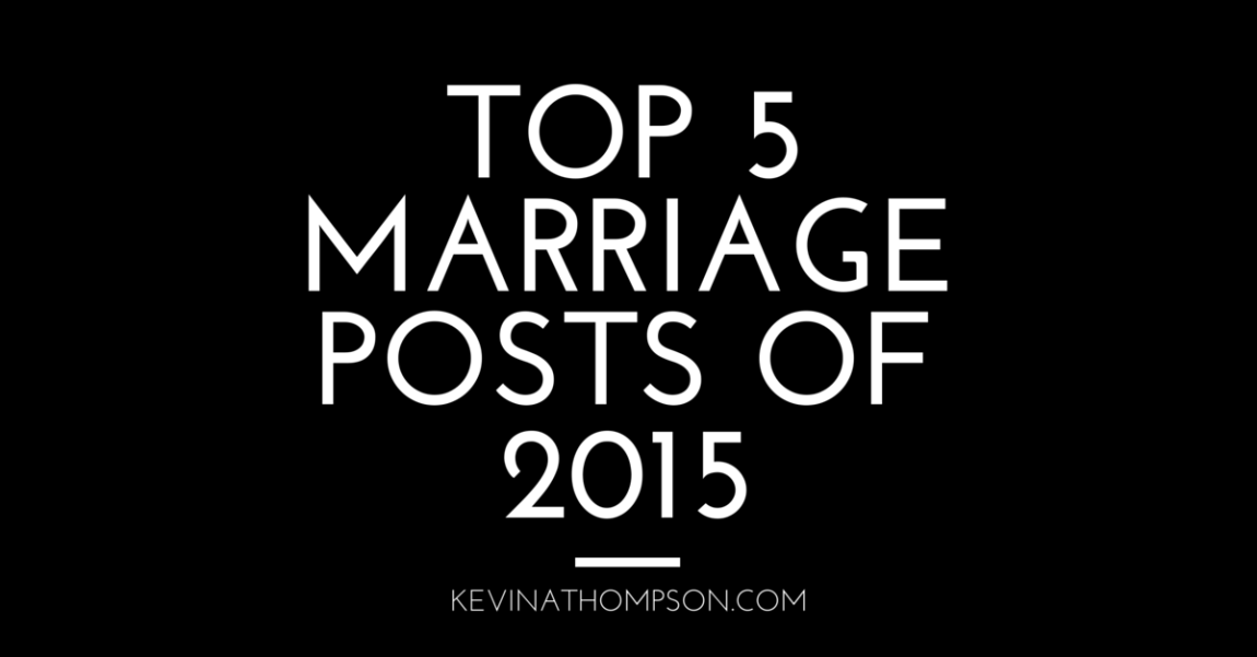Top 5 Marriage Posts of 2015