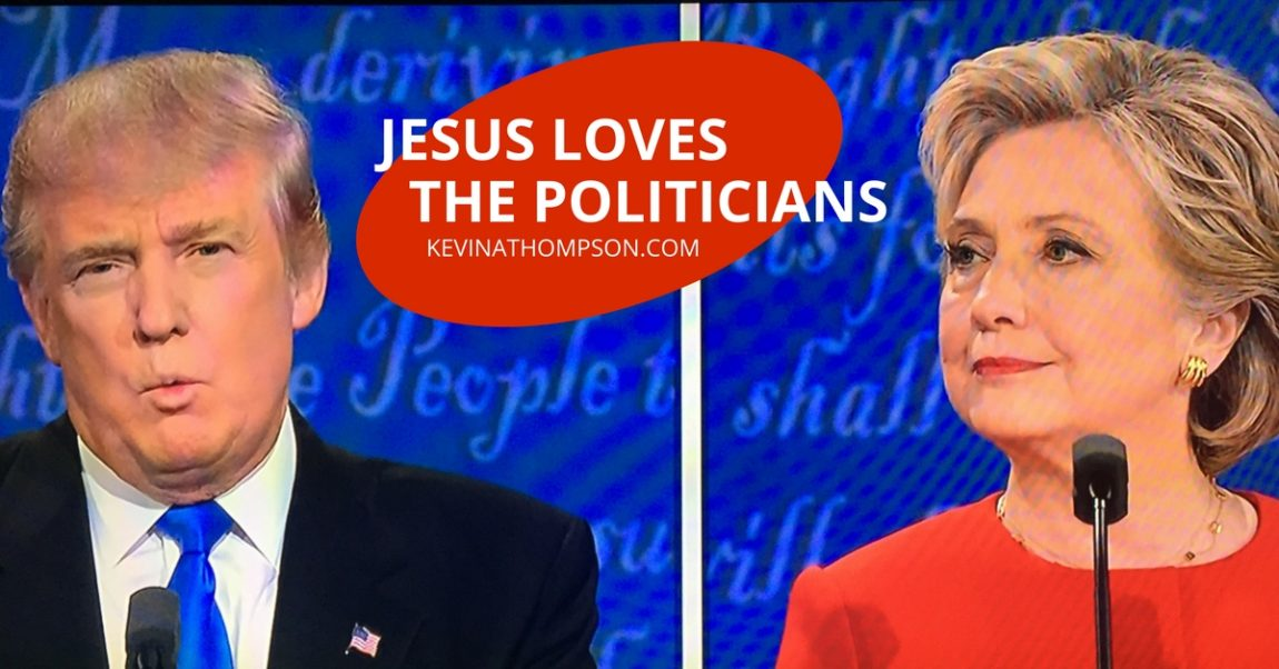 Jesus Loves the Politicians