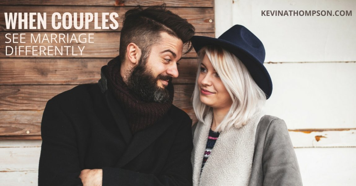 When Couples See Marriage Differently