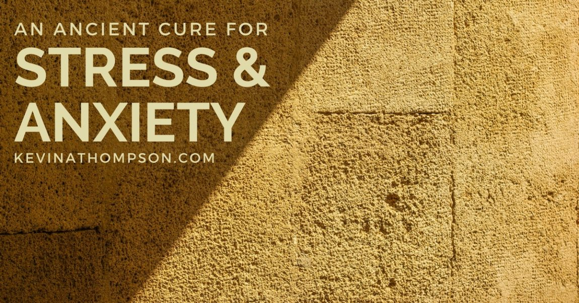 An Ancient Cure for Stress and Anxiety