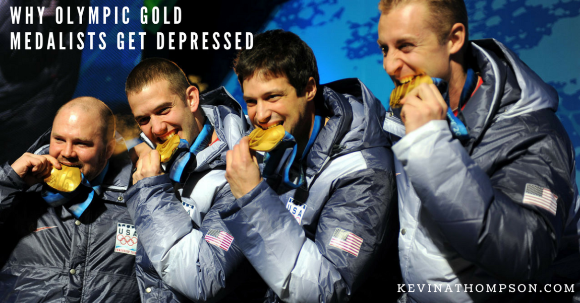 Why Olympic Gold Medalists Get Depressed