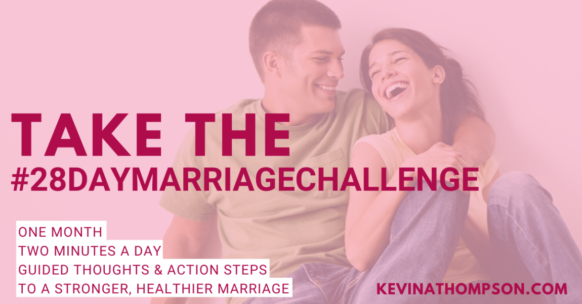 The 28-Day Marriage Challenge