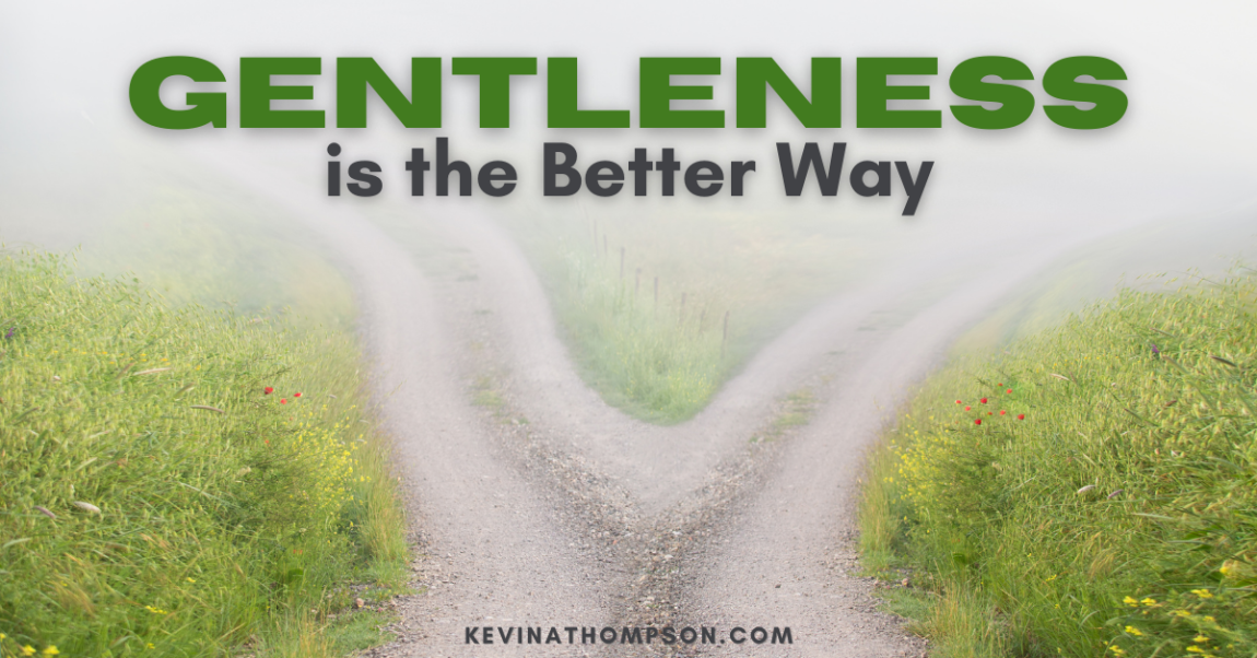 Gentleness Is the Better Way